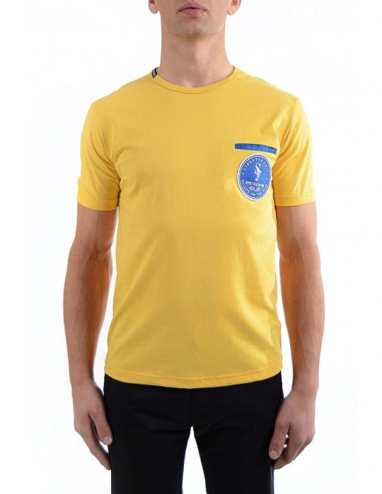 SEAMAN BASIC YELLOW T-SHIRT Selepceny