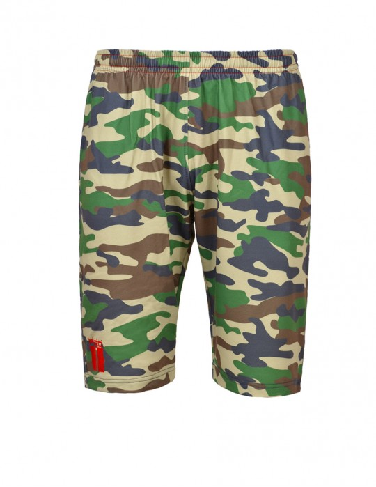 Shorts Sport Light Green Camo