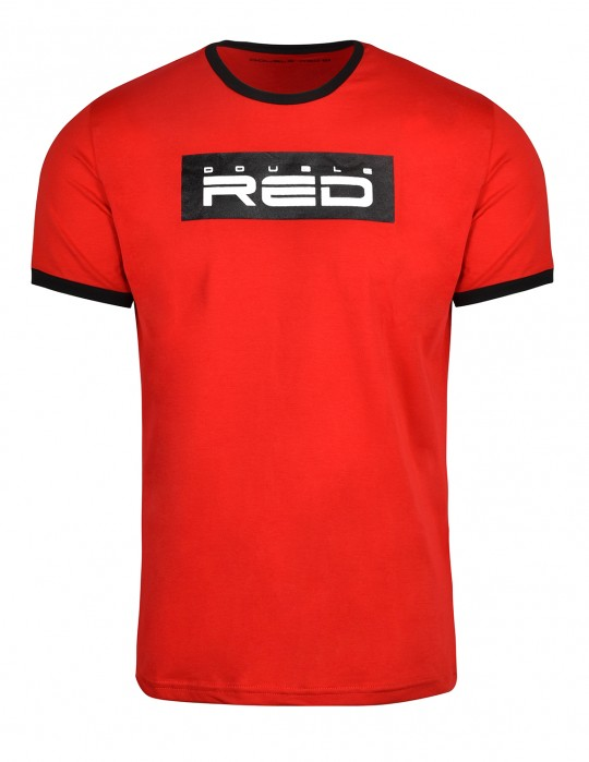 T-Shirt LOGO VISION Red/Black